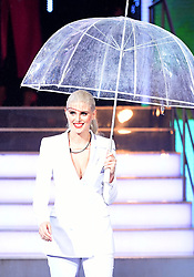 Ashley James enters the house during the Celebrity Big Brother Launch held at Elstree Studios in Borehamwood, Hertfordshire.Â