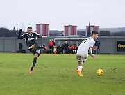 Dundee's Arturo fires in a shot which was saved - Dumbarton v Dundee, William Hill Scottish Cup fifth round at The Cheaper Insurance Direct Stadium <br /> <br />  - &copy; David Young - www.davidyoungphoto.co.uk - email: davidyoungphoto@gmail.com