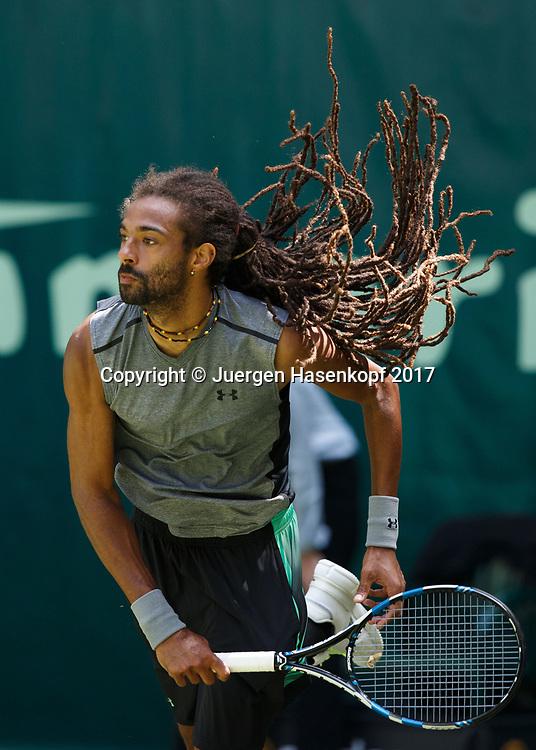 DUSTIN BROWN (GER)<br /> <br /> Tennis - Gerry Weber Open 2017 - ATP 500 -  Gerry Weber Stadion - Halle / Westf. - Nordrhein Westfalen - Germany  - 21 June 2017. <br /> &copy; Juergen Hasenkopf