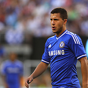 Eden Hazard, Chelsea, in action during the Chelsea V AC Milan Guinness International Champions Cup tie at MetLife Stadium, East Rutherford, New Jersey, USA.  4th August 2013. Photo Tim Clayton