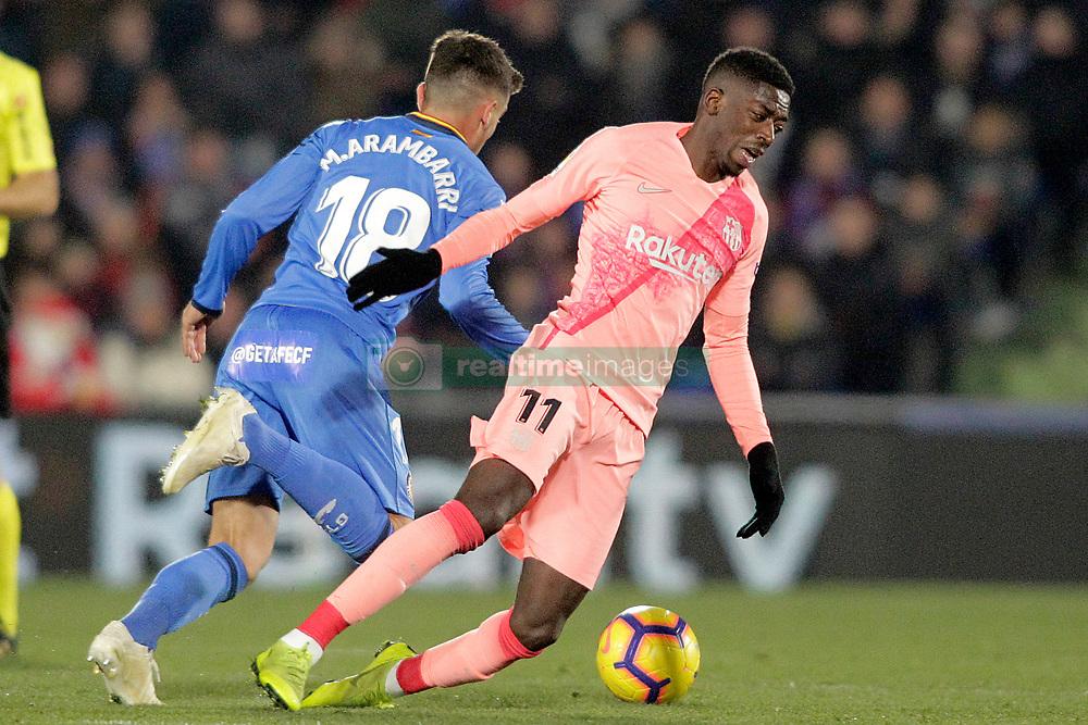 صور مباراة : خيتافي - برشلونة 1-2 ( 06-01-2019 ) 664964-005