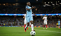 Football - 2016 / 2017 Champions League - Qualifying Play-Off, Second Leg: Manchester City [5] vs. Steaua Bucharest [0]<br /> <br /> Kelechi Iheanacho of Manchester City is injured during the match, at the Ethihad Stadium.<br /> <br /> COLORSPORT/LYNNE CAMERON