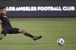 April 29, 2018 - Los Angeles, California, U.S - 29 April 2018, Los Angeles, Ca.,The Los Angeles Football Club (LAFC) beat the Seattle Sounders in the inaugural game at the new Banc of California Stadium. Pictured is LAFC's Steven Beitashour. (Credit Image: © Prensa Internacional via ZUMA Wire)