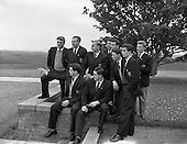 1957 - English soccer team arrives in Ireland