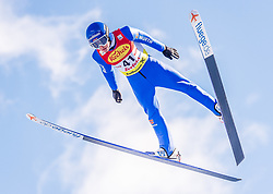 31.01.2020, Seefeld, AUT, FIS Weltcup Nordische Kombination, Skisprung, im Bild Manuel Faisst (GER) // Manuel Faisst of Germany during Skijumping Competition of FIS Nordic Combined World Cup at the Seefeld, Austria on 2020/01/31. EXPA Pictures © 2020, PhotoCredit: EXPA/ Stefan Adelsberger