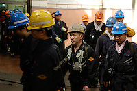Yan Kuang coal mine in Shandong province is one of the biggest of China. Yan Kuang owns 8 mines and 30,000 miners work in that particular one.<br /> The company is listed on the Shanghai, Hong-Kong and New-York stock exchange. Miners go down for an eight-hour-shift. Their work can take place at depth up to 800m. March 10th and 11th 2007.