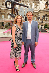 JOHNNY YEO and his wife SHEBAH at the Royal Academy of Arts Summer Party held at Burlington House, Piccadilly, London on 9th June 2010.