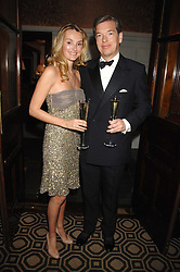 CHARLIE BUTTER and his wife AGNIESZKA at a party to celebrate the launch of the Astley Clarke Fine Jewellery Collection held at The Connaught hotel, London W1 on 28th February 2008.<br /><br />NON EXCLUSIVE - WORLD RIGHTS
