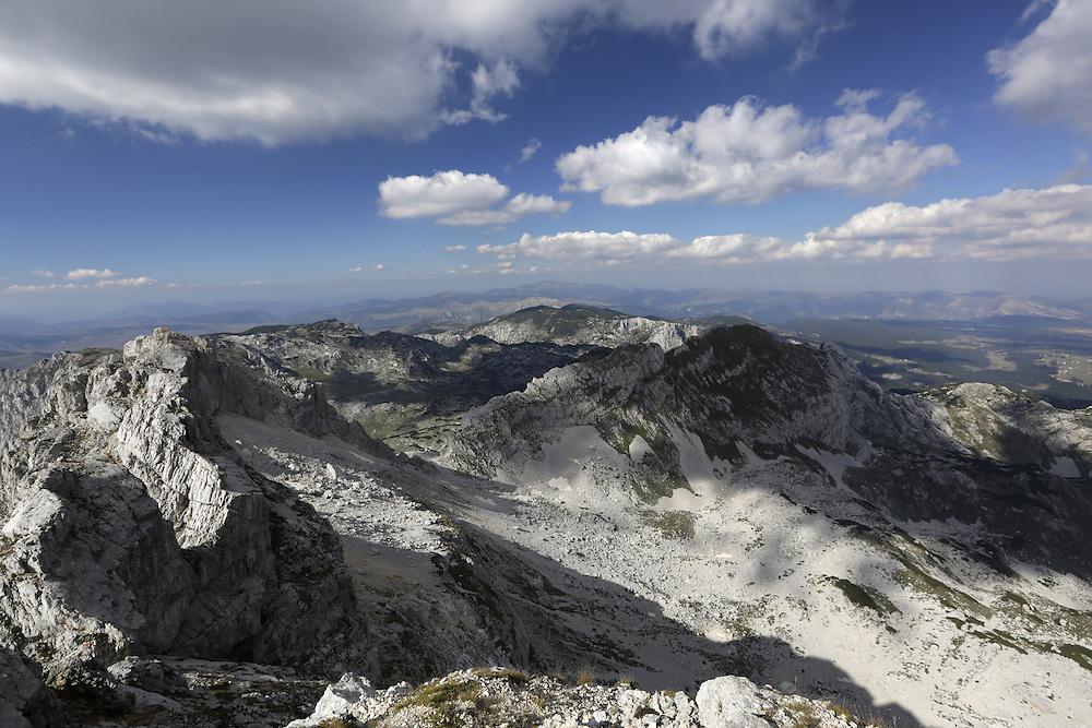 Bobotov Kuk, 2522m, Durmitor, Montenegro. Bobotov Kuk is highest peak of Durmitor mountain and 4th highest peak in Montenegro (1st highest soley on Montenegro territory).