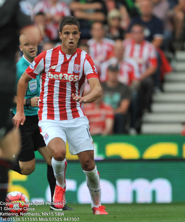 IBRAHIM AFELLAY STOKE CITY, Liverpool FC, Stoke City v Liverpool, Premiership, Britannia Stadium Sunday 9th August 2015Stoke City v Liverpool, Premiership, Britannia Stadium Sunday 9th August 2015
