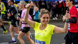 06-11-2016 USA: NYC Marathon We Run 2 Change Diabetes day 3, New York<br /> De dag van de marathon, 42 km en 195 meter door de straten van Staten Island, Brooklyn, Queens, The Bronx en Manhattan / Elia