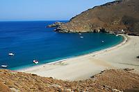 Grece, Cyclades, ile de Andros, plage de Achla  // Greece, Cyclades islands, Andros island, Achla beach