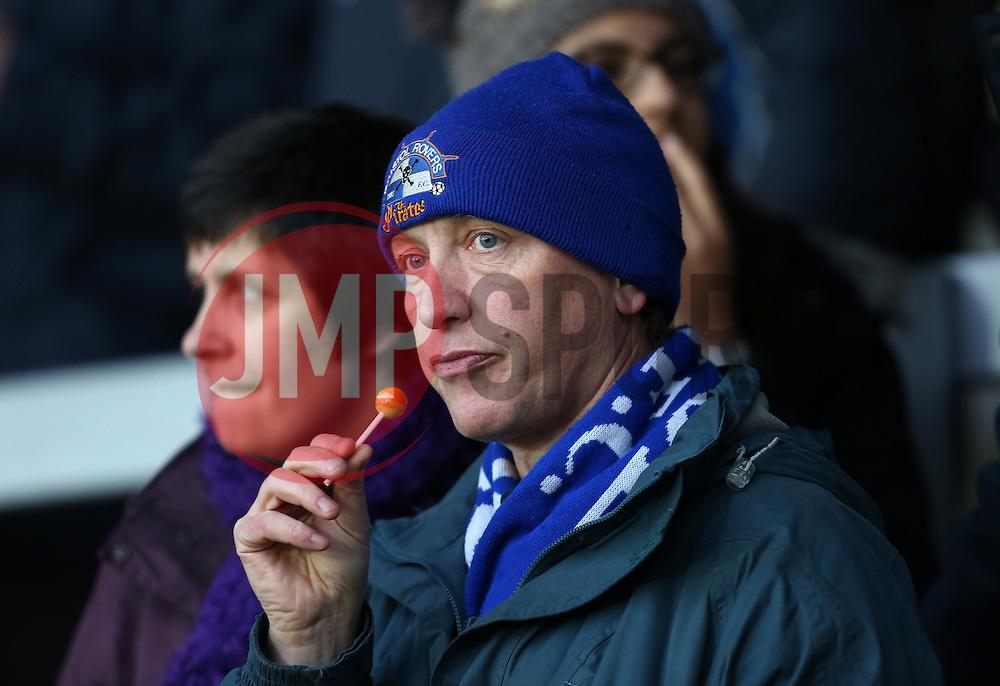 Bristol Rovers fans- Photo mandatory by-line: Matt Bunn/JMP - Tel: Mobile: 07966 386802 23/11/2013 - SPORT - Football - Burton - Pirelli Stadium - Burton Albion v Bristol Rovers - Sky Bet League Two