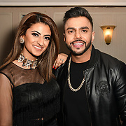 Harpz kaur and Juggy D attend the BritAsiaTV Presents Kuflink Punjabi Film Awards 2019 at Grosvenor House, Park Lane, London,United Kingdom. 30 March 2019