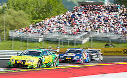 22.05.2016, Red Bull Ring, Spielberg, AUT, DTM Red Bull Ring, Rennen, im Bild Mike Rockenfeller (GER, Audi RS 5 DTM), Mattias Ekstroem (SWE, Audi RS 5 DTM) // during the DTM Championships 2016 at the Red Bull Ring in Spielberg, Austria, 2016/05/22, EXPA Pictures © 2016, PhotoCredit: EXPA/ Dominik Angerer