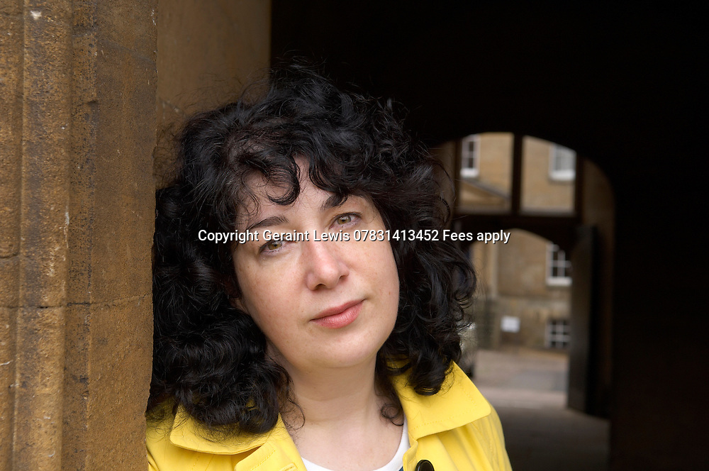 Joanne Harris,British born author to English and French parents.Wrote the best selling book Chocolat that was made into a film.She has just written her first book for children. At the Oxford Literary Festival at Christ Church College,Oxford.CREDIT Geraint Lewis