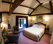 Bay Tree Farm Bed & Breakfast, near Fountains Abbey, Ripon, North Yorkshire, England, UK, Europe.  This image was stitched from multiple overlapping photos. www.baytreefarm.co.uk
