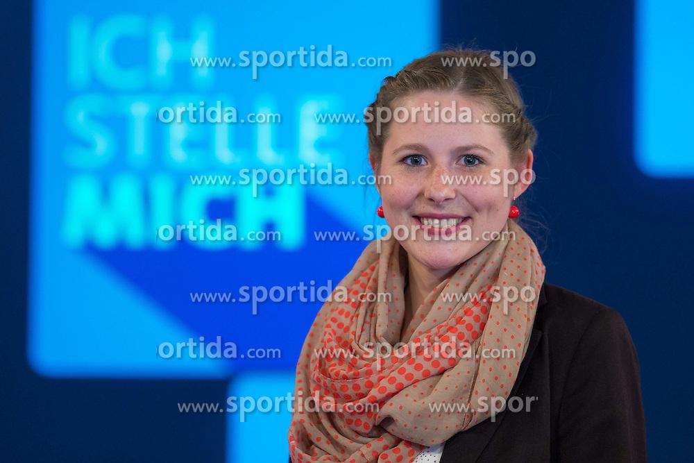 09.06.2015, WDR Studios, Koeln, GER, TV Show, Ich stelle mich, mit Heino, im Bild Schachgrossmeisterin Melanie Ohme // during Germans TV Show &quot;Ich stelle mich&quot; at the WDR Studios in Koeln, Germany on 2015/06/09. EXPA Pictures &copy; 2015, PhotoCredit: EXPA/ Eibner-Pressefoto/ Sch&uuml;ler<br /> <br /> *****ATTENTION - OUT of GER*****