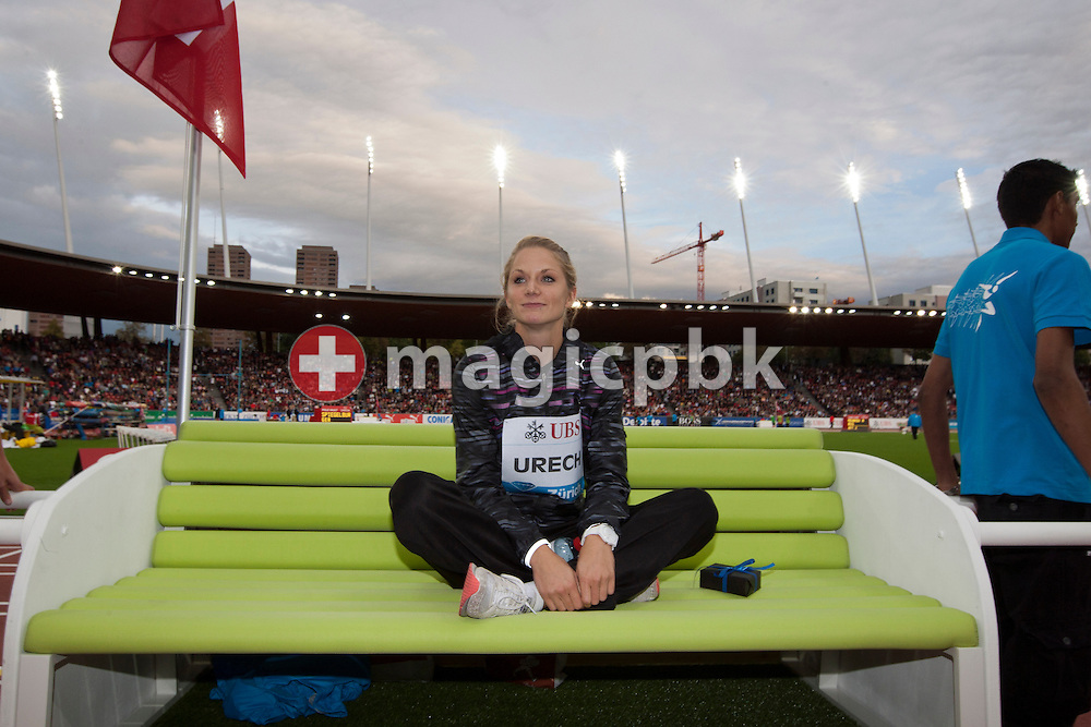 Actions during the Iaaf Diamond League meeting at the Letzigrund Stadium in Zurich, Switzerland, Thursday, Sept. 8, 2011. (Photo by Patrick B. Kraemer / MAGICPBK)