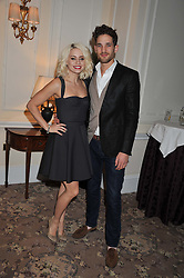 KIMBERLY WYATT and MAX ROGERS at the launch of Whole World Water at The Savoy Hotel, London on 22nd March 2013.