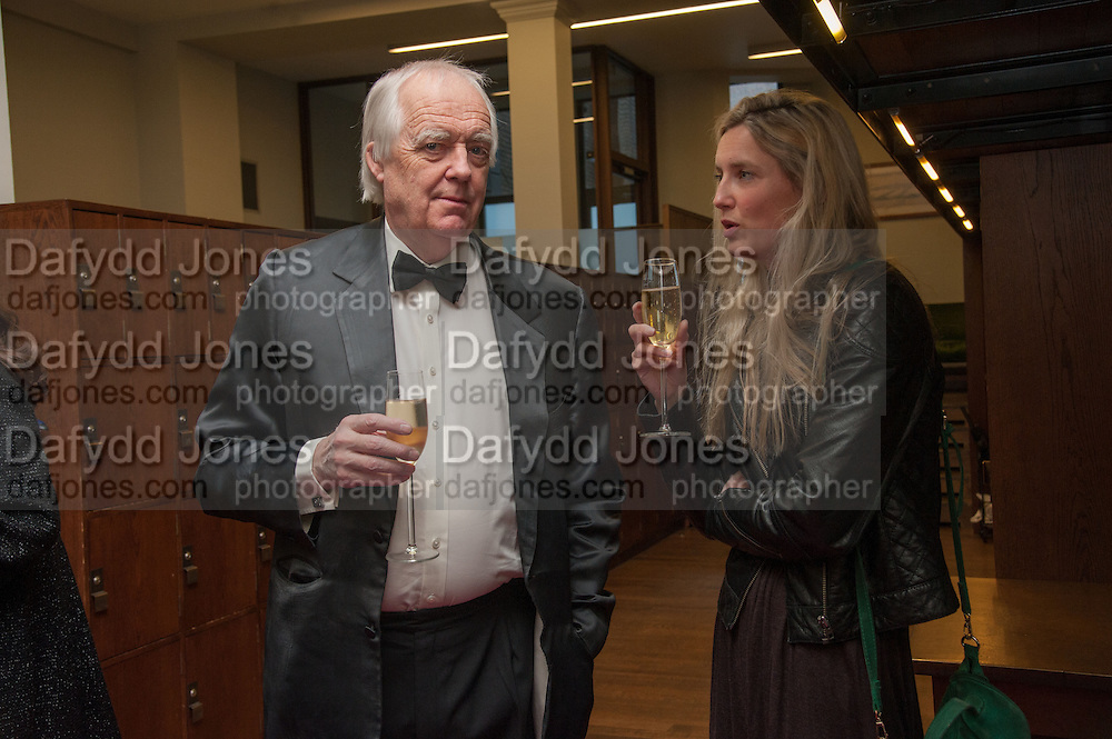 SIR TIM RICE; EVA RICE, The London Library Annual  Life in Literature Award 2013 sponsored by Heywood Hill. The London Library Annual Literary dinner. London Library. St. james's Sq. London. 16 May 2013.