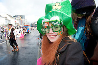 17/03/2013 Spectators in the Galway St Patrick's Day Parade.Picture:Andrew Downes.
