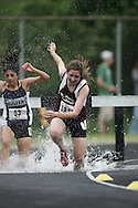 Hamilton, Ontario ---05/06/08--- Tessa Kasch of St. Mary's College  in SS Marie competes in the steeplechase at the 2008 OFSAA Track and Field meet in Hamilton, Ontario..GEOFF ROBINS