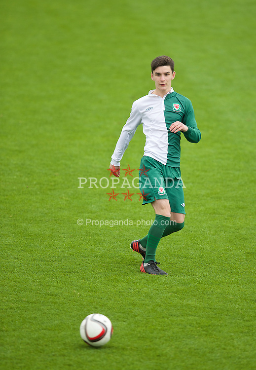 NEWPORT, WALES - Sunday, May 31, 2015: A player during the Football Association of Wales' National Coaches Conference 2015 at Dragon Park FAW National Development Centre. (Pic by David Rawcliffe/Propaganda)