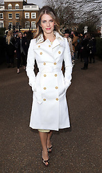 Mélanie Laurent arriving at the Burberry Prorsum show at London Fashion Week A/W 14, Monday, 17th February 2014. Picture by Stephen Lock / i-Images