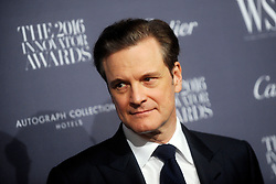 November 2, 2016 - New York, New York, USA - Colin Firth attends the WSJ Magazine Innovator Awards 2016 at Museum of Modern Art on November 2, 2016 in New York City. (Credit Image: © Future-Image via ZUMA Press)
