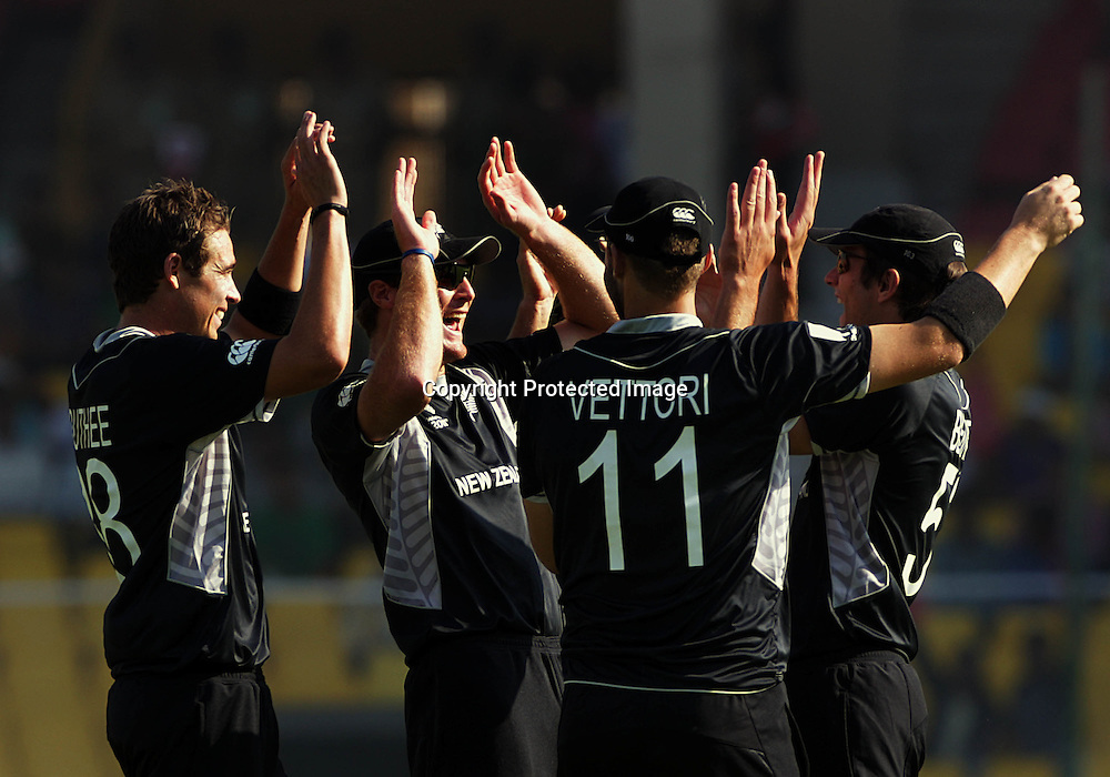 ICC Cricket World Cup 2011. New Zealand Black Caps v Zimbabwe. Sardar Patel Stadium. March 4, 2011. Ahmedabad, India. Photo: photosport.co.nz