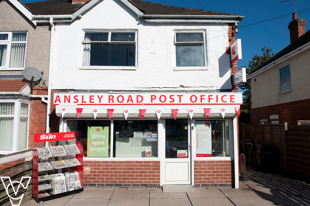 Ansley Road Post Office, Nuneaton | Chris Vaughan Photography