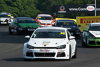 #50 Darrelle WILSON  Volkswagen  Scirocco  Milltek Sport Volkswagen Racing Cup at Oulton Park, Little Budworth, Cheshire, United Kingdom. May 30 2016. World Copyright Peter Taylor/PSP.