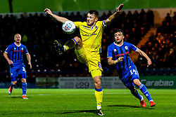 Ollie Clarke of Bristol Rovers controls the ball - Mandatory by-line: Robbie Stephenson/JMP - 02/10/2018 - FOOTBALL - Crown Oil Arena - Rochdale, England - Rochdale v Bristol Rovers - Sky Bet League One