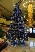 Christmas tree, Jiao Tong Da Sha Business Hotel, Taiyuan, Shanxi Province