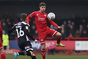 Josh Doherty of Crawley Town during the EFL Sky Bet League 2 match between Crawley Town and Grimsby Town FC at The People's Pension Stadium, Crawley, England on 25 January 2020.
