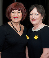 Something to Sing About Singers Patricia Cunningham and Eimear Clancy who took part in the Choir Factor 2014 in the Radisson blu Hotel, Galway in aid of SCCUL Sanctuary at Kilcuan, Clarinbridge . Photo:Andrew Downes.