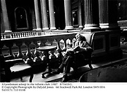 A Gentleman asleep in the reform club. 1987<br />