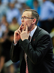 09.06.2010, Ballsporthalle, Frankfurt, GER, 1.BBL - Play Off Finale, Deutsche Bank Skyliners vs Brose Baskets Bamberg, im Bild Chris Fleming (Head Coach Bamberg),  EXPA Pictures © 2010, PhotoCredit: EXPA/ nph/  Roth / SPORTIDA PHOTO AGENCY