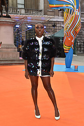 Laura Mvula at the Royal Academy of Arts Summer Exhibition Preview Party 2017, Burlington House, London England. 7 June 2017.