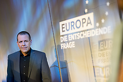 12.05.2019, Puls4 Studio, Wien, AUT, Puls4, Elefantenrunde zur Europawahl 2019, im Bild EU-Spitzenkandidat Harald Vilimsky (FPÖ) // during political discussion due to elections of the european parliament 2019 in Vienna, Austria on 2019/05/12, EXPA Pictures © 2019, PhotoCredit: EXPA/ Michael Gruber