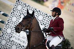 Al Rumaihi Ali Yousef, QAT, Gunder<br /> Furusiyya FEI Nations Cup Jumping Final - Barcelona 2016<br /> © Hippo Foto - Dirk Caremans<br /> 22/09/16