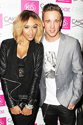 © Licensed to London News Pictures. Tamera Foster & Sam Callahan attend the CAKO & CAKO Kids press launch at Sanctum Soho Hotel in Chelsea, London, UK on 10 December 2013. Photo Credit: Raimondas Kazenas/LNP