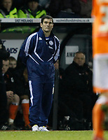 Photo: Steve Bond/Richard Lane Photography. Derby County v Blackpool. Coca-Cola Championship. 26/12/2009. Nigel Clough towards the end of the game