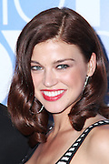 Adrianne Palicki poses at the Fox 2010 Upfronts after-party at Wollman Rink in New York City on May 17, 2010...