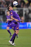 """Christian Vieri (Fiorentina)<br /> Firenze 1/5/2008 Stadio """"Artemio Franchi"""" <br /> Uefa Cup 2007/2008 Semifinals - Semifinale second Leg<br /> Fiorentina Rangers Glasgow (0-0) (2-4 a.p.)<br /> Foto Andrea Staccioli Insidefoto"""