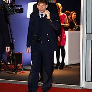 NLD/Amsterdam/20120127 - AFW winter 2012 - Pr. Maxima bij Green Fashion uitreiking, Arnold, chauffeur Maxima