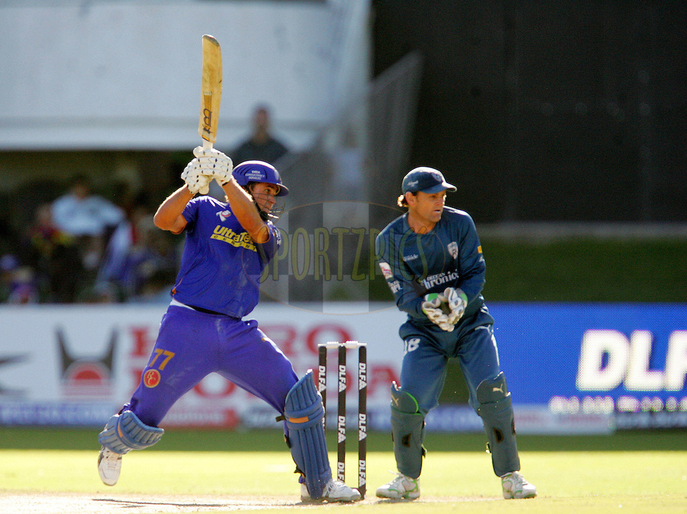 PORT ELIZABETH, SOUTH AFRICA - 02 May 2009.  during the  IPL Season 2 match between the Deccan Chargers and the Rajatshan Royals held at St Georges Park in Port Elizabeth , South Africa..