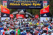 GREYTON, SOUTH AFRICA - The start stage four of the Absa Cape Epic Mountain Bike Stage Race held in Greyton on the 25 March 2009 in the Western Cape, South Africa..Photo by Karin Schermbrucker /SPORTZPICS