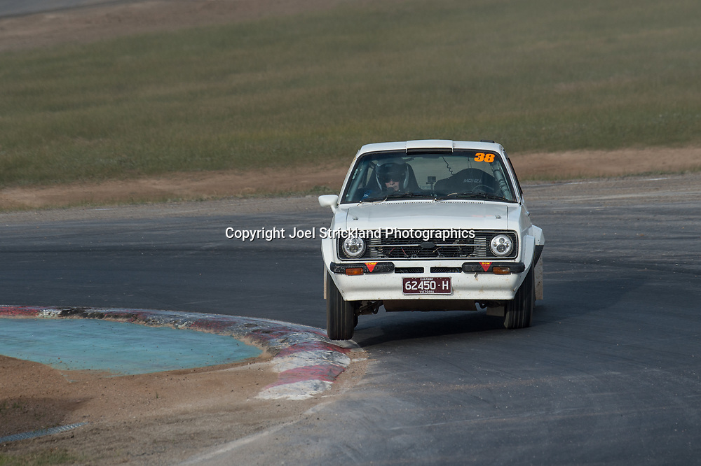 Cody Richards - Ford Escort MK2 - Rallycross Australia - Winton Raceway - 16th July 2017